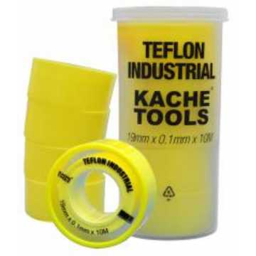 Teflón industrial amarillo...