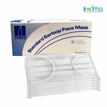 Mascarilla desechable con...