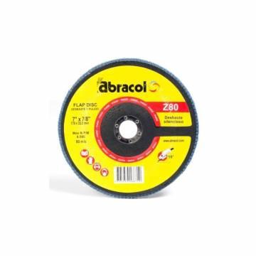 Disco flap 7 x 7/8 grano 80...