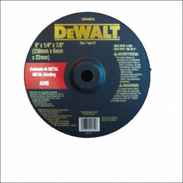 "Disco pulir metal 7"" x1/4""..."