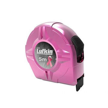 Flexómetro rosado 5m Lufkin