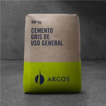 Cemento gris x50kg Argos