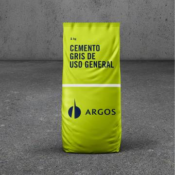 Cemento gris x1Kg Argos