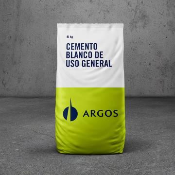 Cemento blanco x5Kg Argos