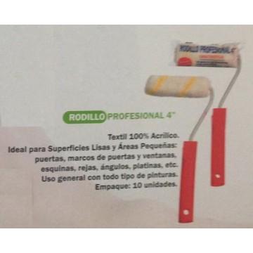 "Rodillo profesional 4"" Incepal"