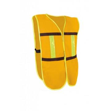 Chaleco de malla amarillo...