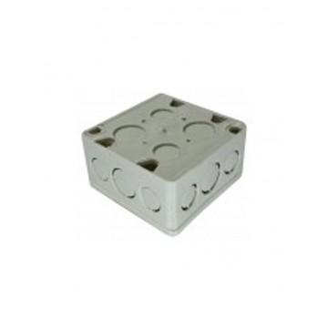 Caja plástica 4x4 con retie...
