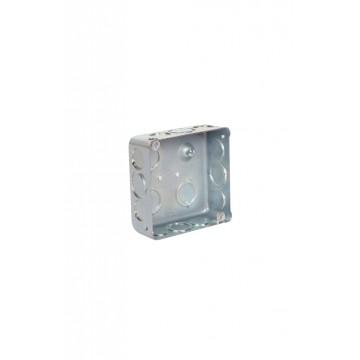Caja 4 X 4 metalica retie...