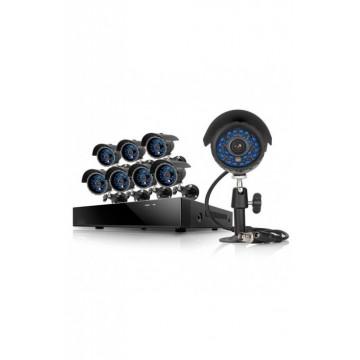 Kit 8 cámaras de video y...