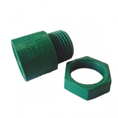 Malla cerramiento plastica verde 2 X 100mt stanprof