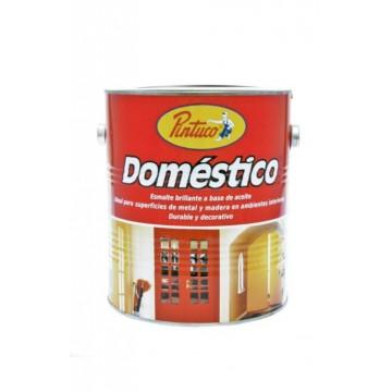 Esmalte domestico dorado...