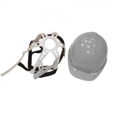 Casco seguridad gris Stanprof