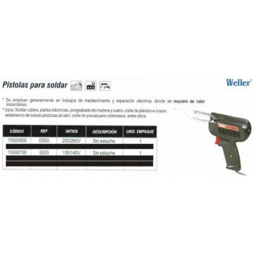 Pistola soldar weller d550