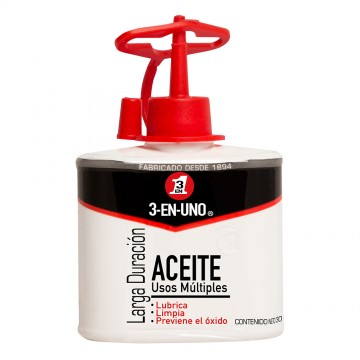 Aceite 3 en uno gotero 30ml...