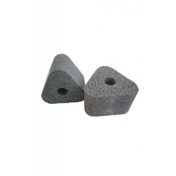Piedra triangular juego x6...