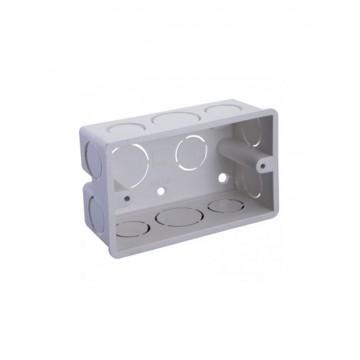 Bisagra omega 2.1/2 comun zincada kache tools por unidad caja por 20 unidades sin tornillos