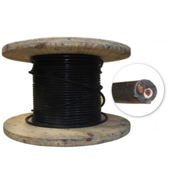 Cable encauchetado 2x14 xMt...