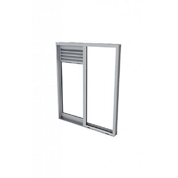 Nevera 300lt haceb 2 puertas titanio dispen agua no frost entre vidrio templado
