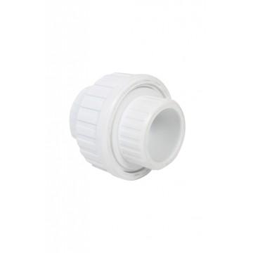 Tapa plastica toma doble x 10 unidades blanca con tornillo retie induma ue1120