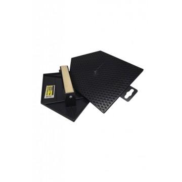 Llave individual lavaplatos de pared sk804 cuello metálico, con aireador 70% de ahorro akkualine