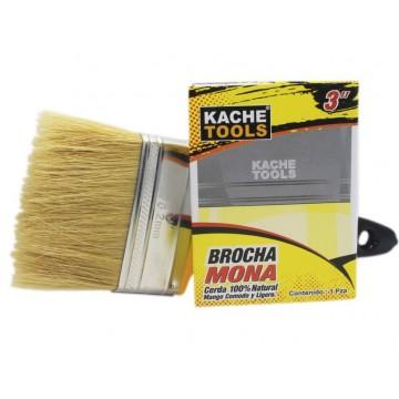"""Brocha mona 3"""" Kache Tools"""