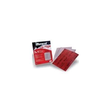 Lija roja Abracol N° 100 8003