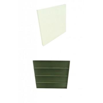 Panel acero para estanteria...