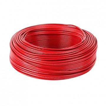 Cable 7 hilos No10 rojo...