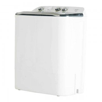 Lavadora 15lbs blanca...