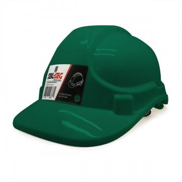 Casco seguridad verde...