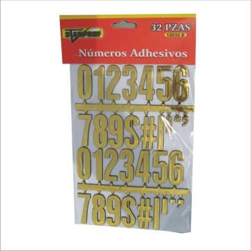 Letras y numeros adhesivos...
