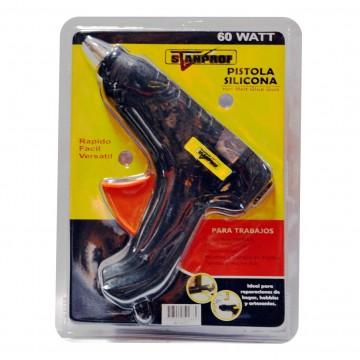 Pistola silicona 60 watt...