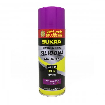 Silicona en aerosol...