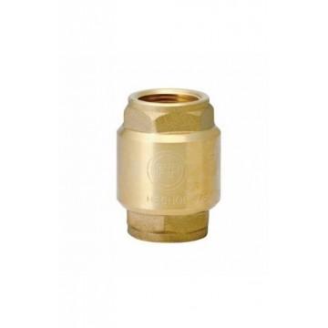 Válvula check 1/2 bronce FV