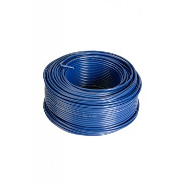 Alambre N° 12 awg azul x50m...