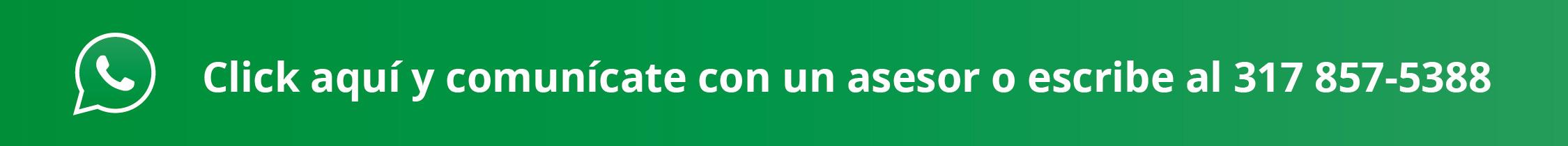 WhatsApp de Atención Banco de Bogotá - Ferreteria Samir